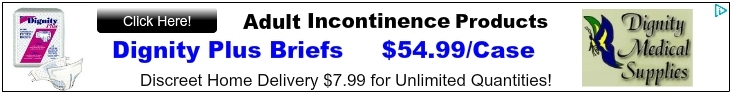 Incontinence Products - Adult Diapers